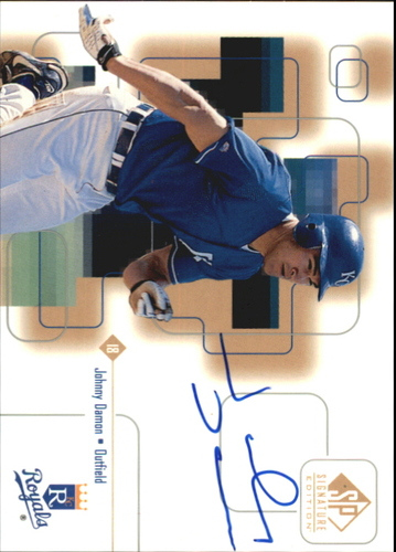 Photo of 1999 SP Signature Autographs Johnny Damon