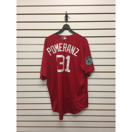 Photo of Drew Pomeranz Team-Issued 2017 Spring Training Jersey
