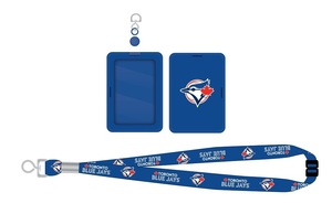 Toronto Blue Jays Kid's Lanyard & Card Holder by Pro Specialties Group
