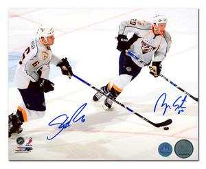 Shea Weber & Ryan Suter Autographed Nashville Predators 8x10 Photo