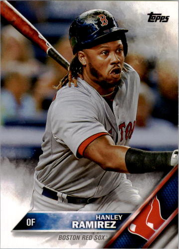Photo of 2016 Topps #321A Hanley Ramirez