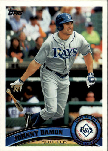 Photo of 2011 Topps #466 Johnny Damon