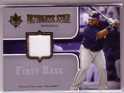 Photo of 2007 Ultimate Collection Ultimate Star Materials #PF Prince Fielder