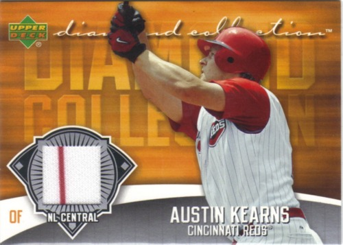Photo of 2006 Upper Deck Diamond Collection Materials #KE Austin Kearns Jsy