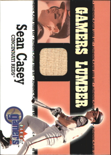 Photo of 2000 Fleer Gamers Lumber #10 Sean Casey