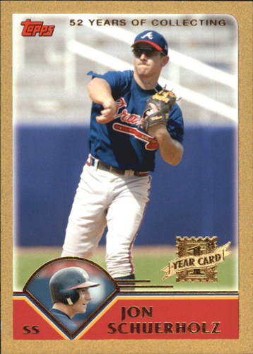 Photo of 2003 Topps Traded Gold #T194 Jon Schuerholz FY