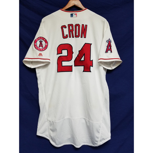 Photo of CJ Cron 2016 Game-Used Home Jersey