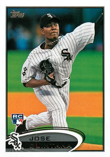 Photo of 2012 Topps Update #US257 Jose Quintana Rookie Card Cubs post-season