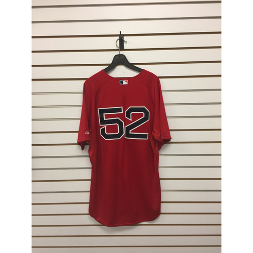Photo of Eduardo Rodriguez Game-Used September 25, 2015 Home Alternate Jersey