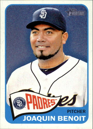 Photo of 2014 Topps Heritage #23 Joaquin Benoit