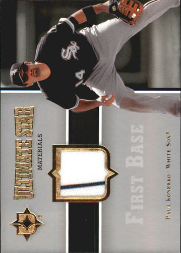 Photo of 2007 Ultimate Collection Ultimate Star Materials #PK Paul Konerko