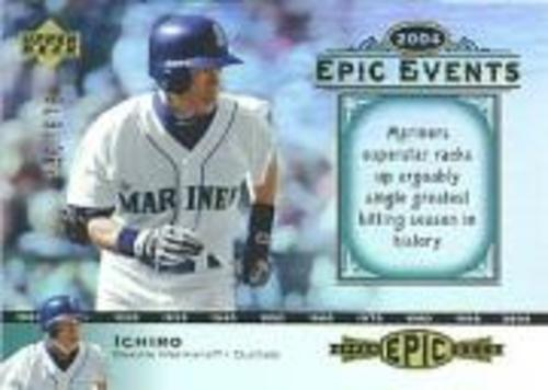 Photo of 2006 Upper Deck Epic Events #EE29 Ichiro Suzuki