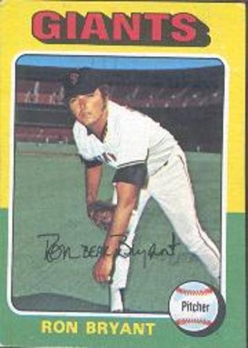 Photo of 1975 Topps #265 Ron Bryant