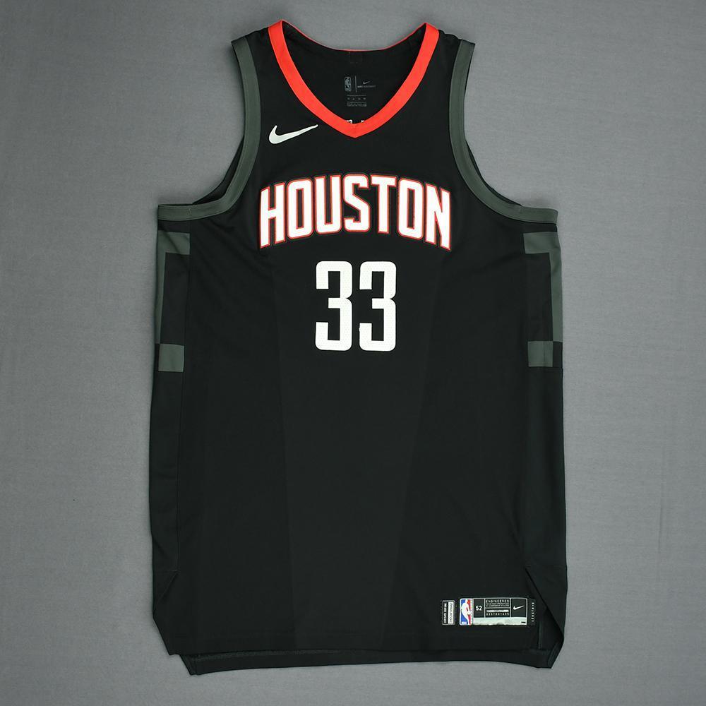 Ryan Anderson - Houston Rockets - Game-Worn 'Statement' Jersey - 2017-18 Season