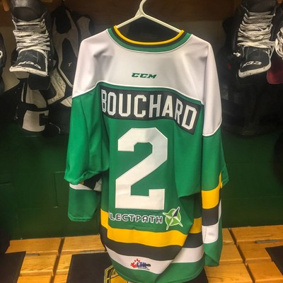 Evan Bouchard Warmup Jersey
