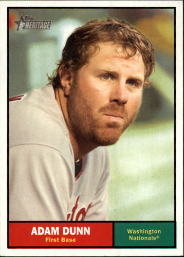 Photo of 2010 Topps Heritage #117 Adam Dunn