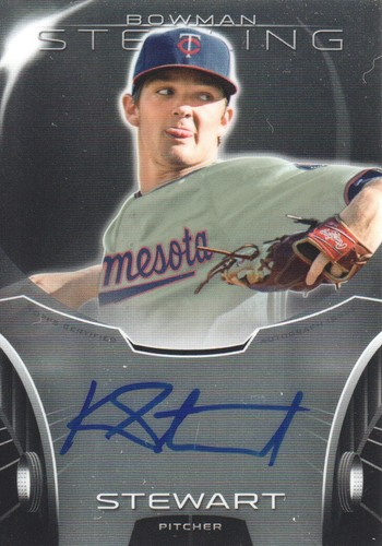 Photo of 2013 Bowman Sterling Prospect Autographs #KS Kohl Stewart
