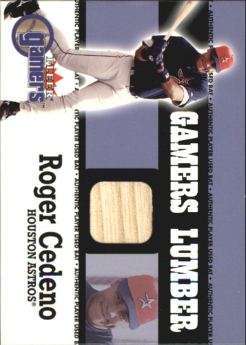 Photo of 2000 Fleer Gamers Lumber #11 Roger Cedeno