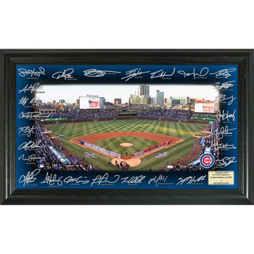 Photo of Chicago Cubs 2016 Signature Field
