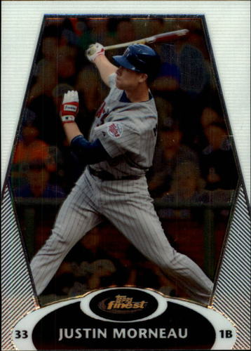 Photo of 2008 Finest #67 Justin Morneau