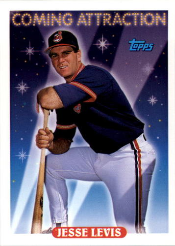 Photo of 1993 Topps #801 Jesse Levis