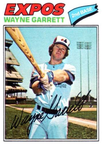 Photo of 1977 Topps #417 Wayne Garrett