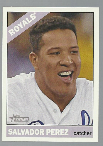 Photo of 2015 Topps Heritage #308 Salvador Perez