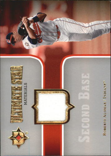Photo of 2007 Ultimate Collection Ultimate Star Materials #RA Roberto Alomar
