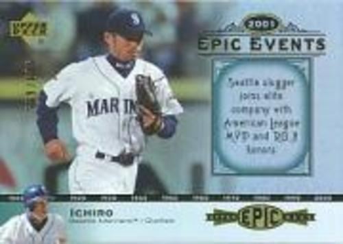 Photo of 2006 Upper Deck Epic Events #EE57 Ichiro Suzuki