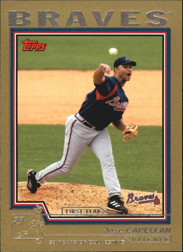 Photo of 2004 Topps Traded Gold #T143 Jose Capellan FY