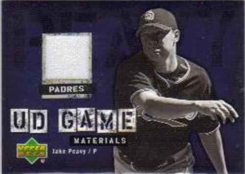 Photo of 2006 Upper Deck UD Game Materials #JP Jake Peavy Jsy S1