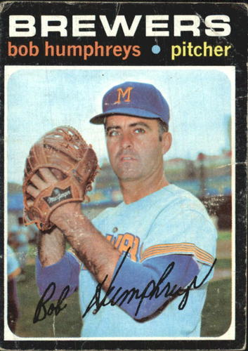 Photo of 1971 Topps #236 Bob Humphreys