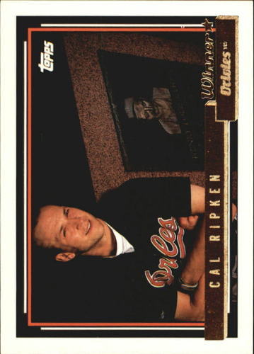 Photo of 1992 Topps Gold Winners #40 Cal Ripken/Gehrig