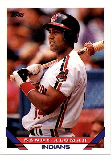 Photo of 1993 Topps #85 Sandy Alomar Jr.