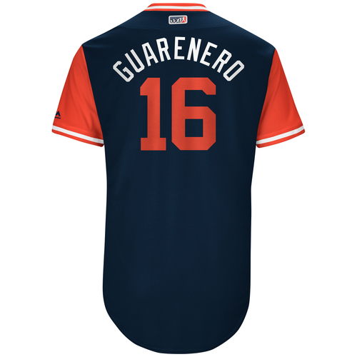 "Photo of Ehire ""Guarenero"" Adrianza Game-Used Players Weekend Jersey"