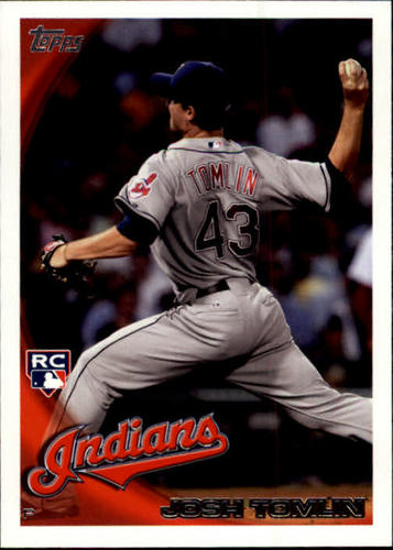 Photo of 2010 Topps Update #US319 Josh Tomlin Rookie Card -- Indians post-season