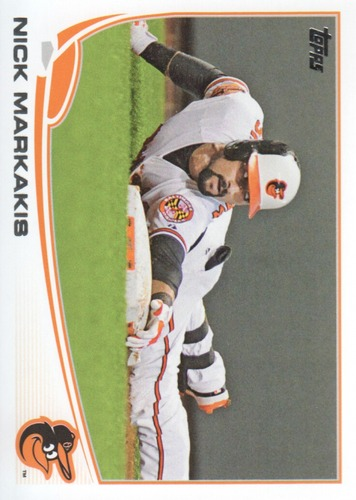 Photo of 2013 Topps #592 Nick Markakis