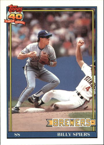 Photo of 1991 Topps Tiffany #284 Billy Spiers