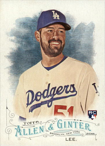 Photo of 2016 Topps Allen and Ginter #163 Zach Lee RC