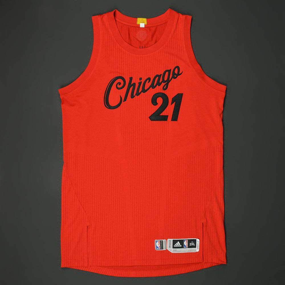 Jimmy Butler - Chicago Bulls - NBA Christmas Day \'16 - Game-Worn ...