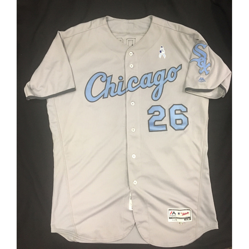 Photo of Avisail Garcia Game-Used Father's Day Jersey