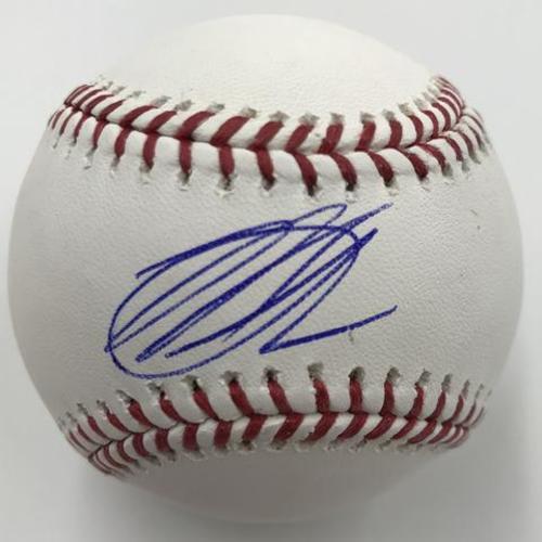 Photo of Mike Soroka Autographed Baseball