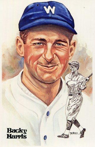 Photo of 1980-02 Perez-Steele Hall of Fame Postcards #148 Bucky Harris -- Set #08689