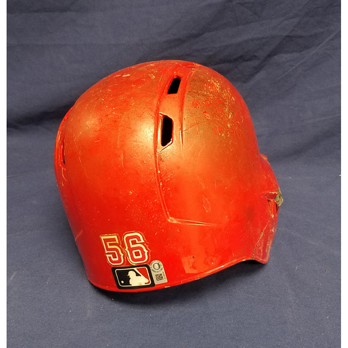 Kole Calhoun Game-Used Helmet