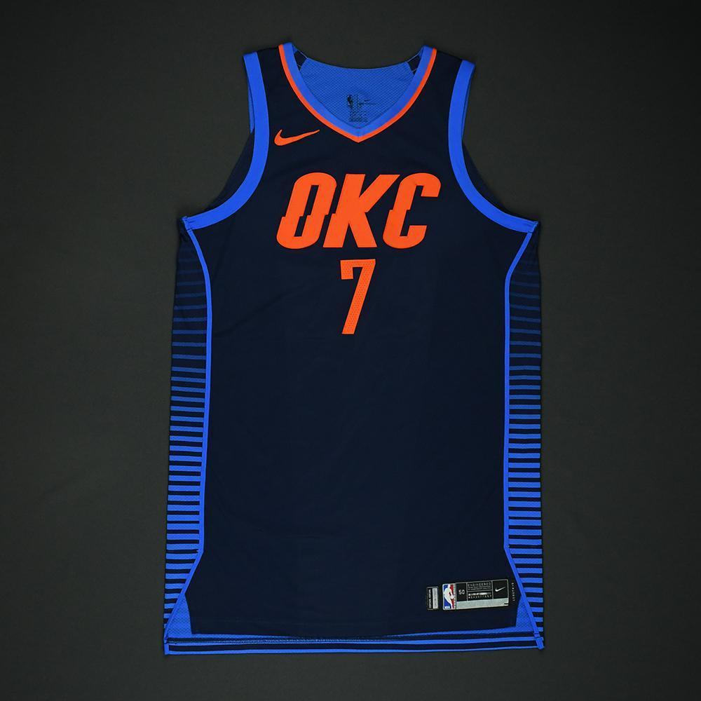 Carmelo Anthony - Oklahoma City Thunder - NBA Christmas Day '17 Game-Worn Jersey