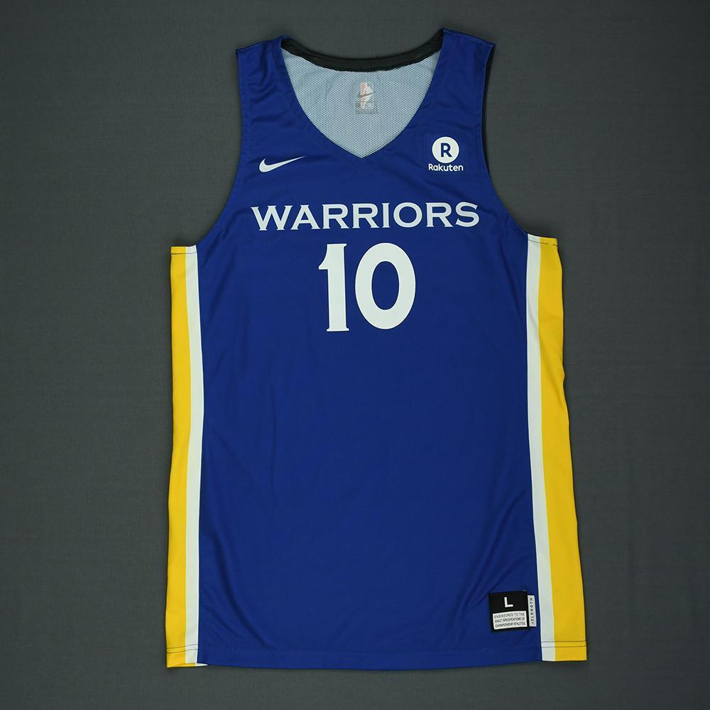 Jacob Evans III - Golden State Warriors - 2018 NBA Summer League - Game-Worn Jersey