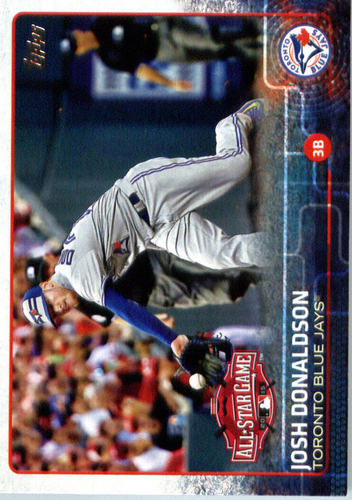 Photo of 2015 Topps Update #US58 Josh Donaldson