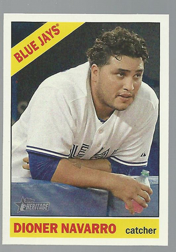 Photo of 2015 Topps Heritage #309 Dioner Navarro