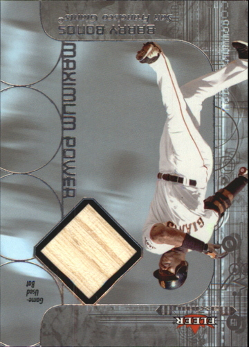 Photo of 2002 Fleer Maximum Power Bat #3 Barry Bonds *