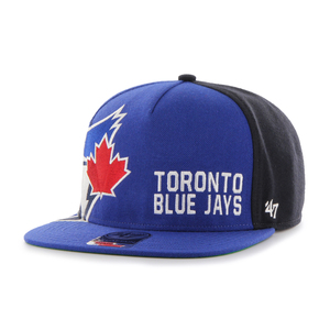 Toronto Blue Jays Outter Edge Snapback Cap Royal by '47 Brand